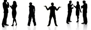 Body-language-silhouette