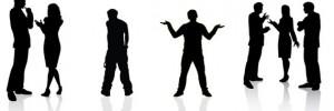 Body-language-silhouette